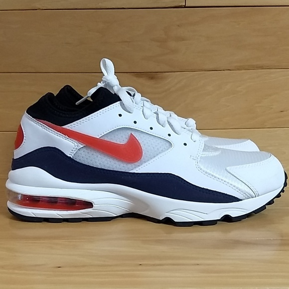 0ce3fa4bd85c2 Nike Air Max 93 White Habanero Red 306551-102